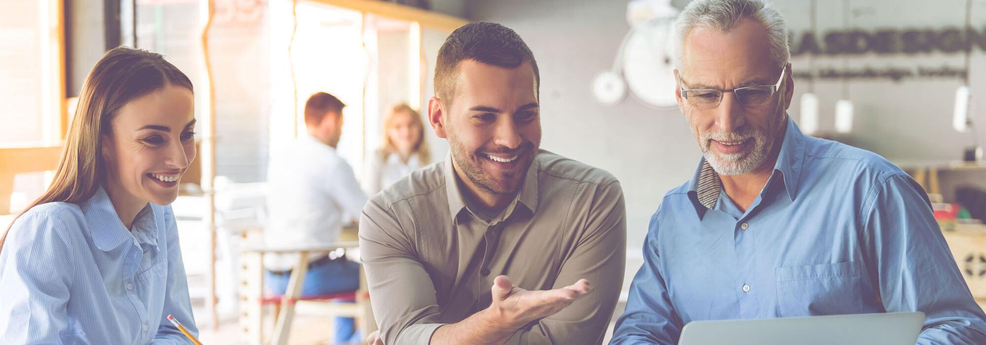Mitarbeiterentwicklung - Wir investieren in unsere Mitarbeiter